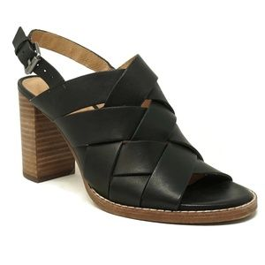Madewell Cindy Slingback Sandals Black Size 5